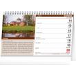 Stolní kalendář Hrady a zámky 2021, 23,1 × 14,5 cm