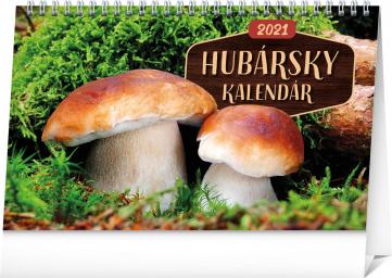Stolní kalendář Hubársky kalendár SK 2021, 23,1 × 14,5 cm