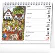 Stolní kalendář Josef Lada – Děti 2022, 16,5 × 13 cm