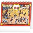 Stolní kalendář Josef Lada – Na poli 2021, 16,5 × 13 cm
