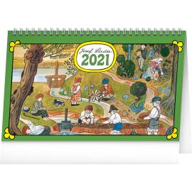 Desk calendar Josef Lada – In the Countryside 2021, 23,1 × 14,5 cm