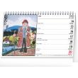 Stolní kalendář Josef Lada – Na vsi 2021, 23,1 × 14,5 cm