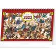 Stolní kalendář Josef Lada – Na vsi 2022, 23,1 × 14,5 cm