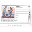 Stolní kalendář Josef Lada – Švejk 2019, 23,1 x 14,5 cm