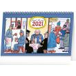 Stolní kalendář Josef Lada – Švejk 2021, 23,1 × 14,5 cm