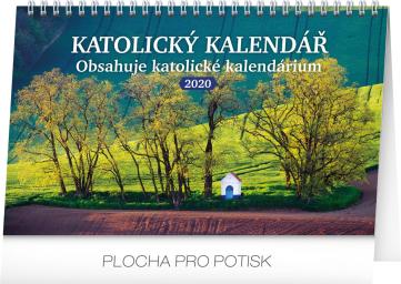 Stolní kalendář Katolický kalendář 2020, 23,1 × 14,5 cm