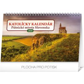 Stolní kalendář Katolícky kalendár SK 2020, 23,1 × 14,5 cm