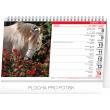 Stolní kalendář Koně – Kone CZ/SK 2020, 23,1 × 14,5 cm