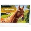 Stolní kalendář Koně – Kone CZ/SK 2022, 23,1 × 14,5 cm