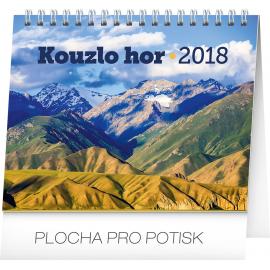 Desk calendar Kouzlo hor 2018, 16,5 x 13 cm