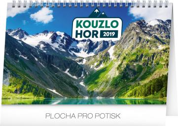 Stolní kalendář Kouzlo hor 2019, 23,1 x 14,5 cm