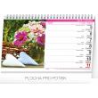 Stolní kalendář Krása květin – Krása kvetov CZ/SK  2018, 23,1 x 14,5 cm