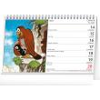 Stolní kalendář Krteček 2021, 23,1 × 14,5 cm