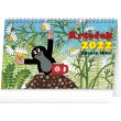 Stolní kalendář Krteček 2022, 23,1 × 14,5 cm