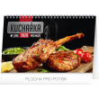 Desk calendar Cookbook for men 2020, 23,1 × 14,5 cm