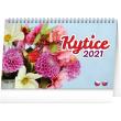Stolní kalendář Kytice CZ/SK 2021, 23,1 × 14,5 cm