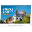 Stolní kalendář Magická místa České republiky 2018, 23,1 x 14,5 cm