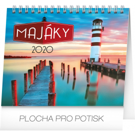 Desk calendar Lighthouses planner 2020, 16,5 × 13 cm