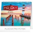 Stolní kalendář Majáky 2020, 16,5 × 13 cm