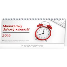Stolní kalendář Manažerský daňový 2019, 33 x 14,5 cm