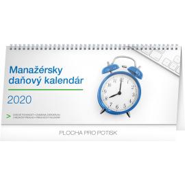 Stolní kalendář Manažérsky daňový SK 2020, 33 × 14,5 cm