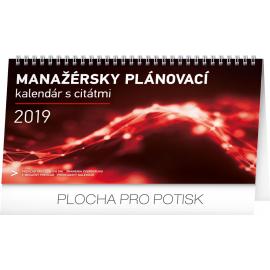 Desk calendar Manager's weekly planner SK 2019, 25 x 14,5 cm
