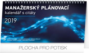 Stolní kalendář Manažerský s citáty 2019, 25 x 14,5 cm