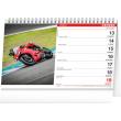 Stolní kalendář Motorky 2022, 23,1 × 14,5 cm