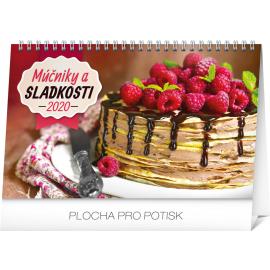 Stolní kalendář Múčniky a sladkosti SK 2020, 23,1 × 14,5 cm