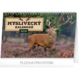 Desk calendar Myslivecký kalendář 2018, 23,1 x 14,5 cm