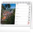 Stolní kalendář Nejkrásnější místa Čech a Moravy 2021, 16,5 × 13 cm