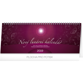 Desk calendar New lunar 2019, 33 x 12,5 cm