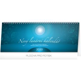 Stolní kalendář Nový lunární kalendář 2020, 33 × 12,5 cm