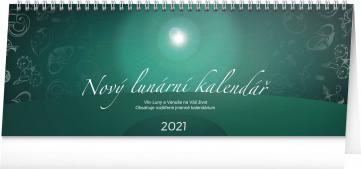 Stolní kalendář Nový lunární kalendář 2021, 33 × 12,5 cm