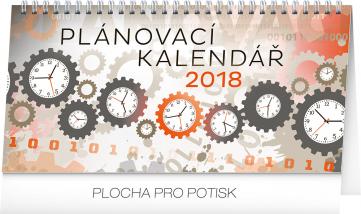 Stolní kalendář Plánovací 2018, 25 x 12,5 cm
