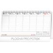 Stolní kalendář Plánovací 2019, 25 x 12,5 cm
