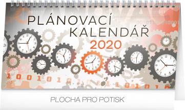 Stolní kalendář Plánovací 2020, 25 × 12,5 cm