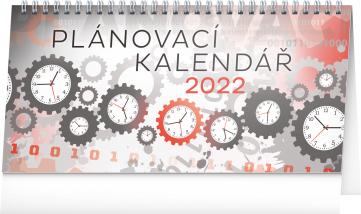 Stolní kalendář Plánovací 2022, 25 × 12,5 cm