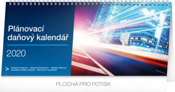 Stolní kalendář Plánovací daňový 2020, 33 × 14,5 cm