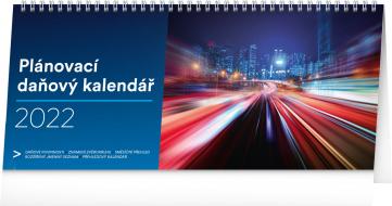 Stolní kalendář Plánovací daňový 2022, 33 × 14,5 cm