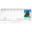Stolní kalendář Plánovací daňový s fotkami 2020, 33 × 12,5 cm