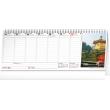 Stolní kalendář Plánovací daňový s fotkami 2021, 33 × 12,5 cm