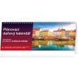 Stolní kalendář Plánovací daňový – Světová města 2022, 33 × 12,5 cm