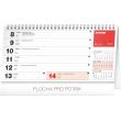 Stolní kalendář Plánovací se světovými dny 2020, 25 × 12,5 cm