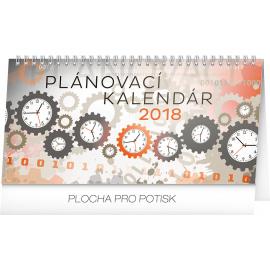 Stolní kalendář Plánovací SK 2018, 25 x 12,5 cm