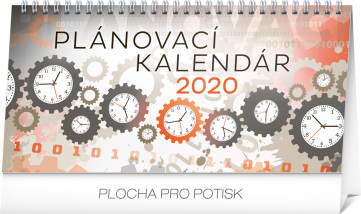 Stolní kalendář Plánovací SK 2020, 25 × 12,5 cm