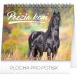 Stolní kalendář Poézia koní – Christiane Slawik SK 2018, 16,5 x 13 cm