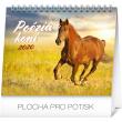 Stolní kalendář Poézia koní SK 2020, 16,5 × 13 cm