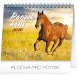 Stolní kalendář Poezie koní 2020, 16,5 × 13 cm