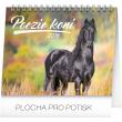 Stolní kalendář Poezie koní – Christiane Slawik 2018, 16,5 x 13 cm